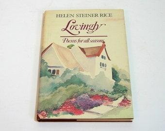 Helen Steiner Rice, Lovingly, Poems For All Seasons, Christian Poetry