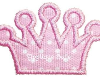 239 Add a Crown Embroidery Applique Design
