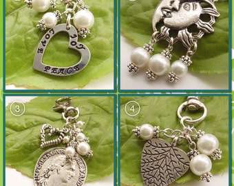 Stamped word bag charm joy love peace stamped metal affirmation words inspirational gift positive message word accessories gift for her