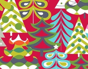 Blend Fabrics - Treelicious Collection - Tis the Season in Red - Fat Quarter