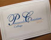 Graduation Announcement, Traditional Folded Card, Elegant, Custom
