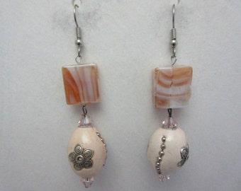 Pink Combo Earrings