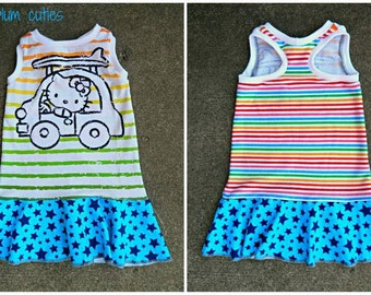 2T Hello Kitty Racerback Dress