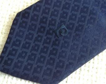 Vintage Pierre Cardin Tie.  Beautiful Necktie.  Mod, Eames era, Mad Men, Beatles, Rockabilly.