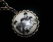 Beatles CHARM bracelet vintage 1960s  YEH!