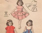 Vintage Toni Doll Wardrobe 1950s Butterick 6316