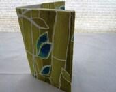 Passport Cover - Bamboo Yellow holder