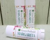Margarita Soy Lip Balm Tube- Vegan - Green Daffodil