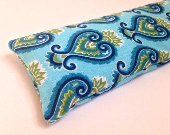 Blue Pattern Eye Pillows