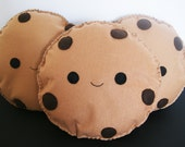 11 inch Happy Cookie Soft Toy/Cushion/Pillow Cool Chocolate Chip Kawaii Biscuit Decoration Plush Kids Room