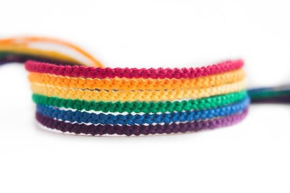 Rainbow Friendship Bracelet Set