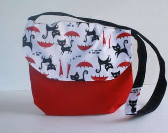 Raining Cats Purse-Kids Purse-girls purse