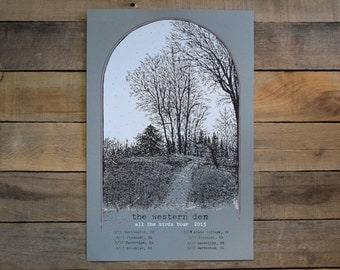 SALE The Western Den tour poster