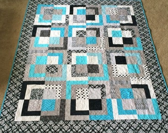 Custom Out of the Box Quilt, Custom Quilt, Graduation Quilt, Blanket, Handmade Quilts for Sale, Custom Quilts for Sale