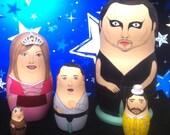 The Nightman Cometh Matryoshka Dolls