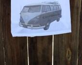 Shabby Chic, Beach, Cottage, Flour Sack, Tea Towel (VW)