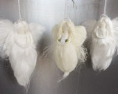 Angel - Shimmering White Guardian Angel perfect for wedding, christening, sympathy, baby shower