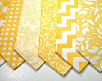 Yellow Neckties Wedding Neckties Mens Neckties Wedding Neckties Yellow Wedding Neckties