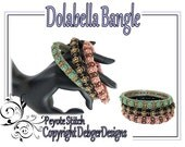 Dolabella Bangle - Beading Pattern Tutorial (Double Peyote)