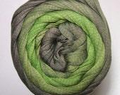 On Line Linie 346 Arona Green Olive 106 100% Cotton Soft Ribbon Yarn 100 Gram