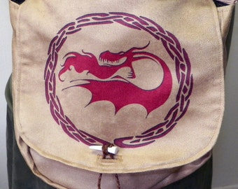Stoker Dragon Satchel Made to Order