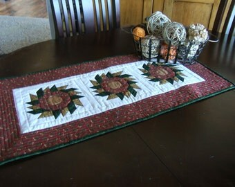 Flowers in Bloom Table Runner
