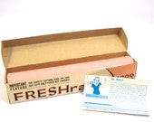 Vintage FRESHrap Wax Paper in Peach NEW with Original BOX #43