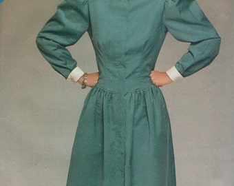 See and Sew Modest Ladies Dress 5260 Sewing Pattern Uncut