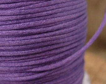 10 or 50 feet 1.5mm Purple Nylon Cord