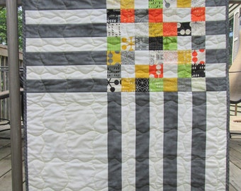 Crossroads Baby Quilt or Wall Hanging