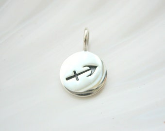 Sterling Silver Sagittarius Zodiac Charm - Add On - Astrological Sign