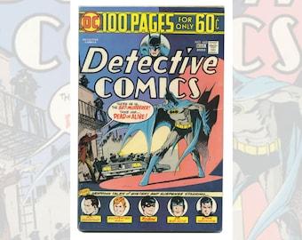 DC Batman's Detective Comics #445 March 1975