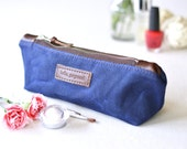 NO. 275 Small Personalized Cosmetics Pouch, Monogrammed, Makeup Brush Holder, Multipurpose Case, Mother's Day, Gift for Mom, Hello Gorgeous