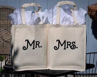 Mr. and Mrs. Wedding Gift Bags