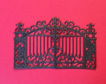 Nice Ornate Fence Die Cuts - Perfect for Cards