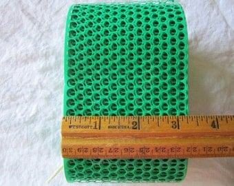15 yards punchinella, POLKA DOTS stencil material, scrim, sequin waste