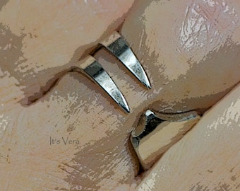 Fork ring, silverware ring, trendy ring, silver dinner ring, cutlery ring, metal ring, Hippie ring, Boho ring, promise ring, jewellery