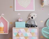 Ikea Rast Drawer Gelato drawer decals