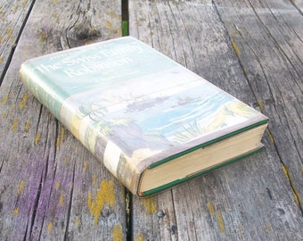 Vintage book The Swiss Family Robinson by Johann Wyss A Rainbow Classic 1947 Paper Ephemera