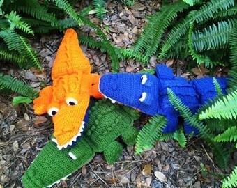 Floppy Stuffed Alligator