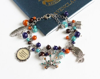 Charm Bracelet (Blue Eagle House)