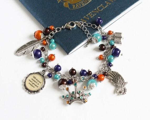 Charm Bracelet (Blue Eagle House) Silver version