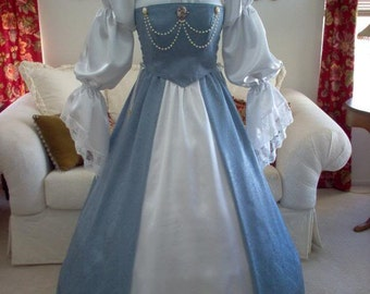 Pirate Renaissance Wedding Dress