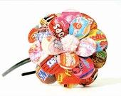 Candy Shop Daisy Paper Mache Headband