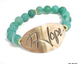 Inspirational Affirmation Bracelet