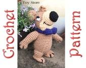 Jerry Bear A Crochet Pattern by Erin Scull