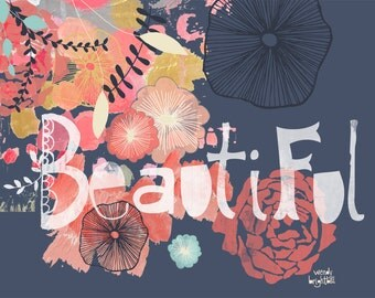 Beautiful Art Print 11 x 14*