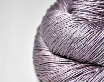Rose which must not be named - Silk Fingering Yarn