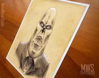 The CEO - Illustration - Print