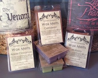 Dragons Blood Wax Melt Tart Melt Parasoy Clamshell Scented Wax Cube for Electric Melters Warmers Strongly Scented